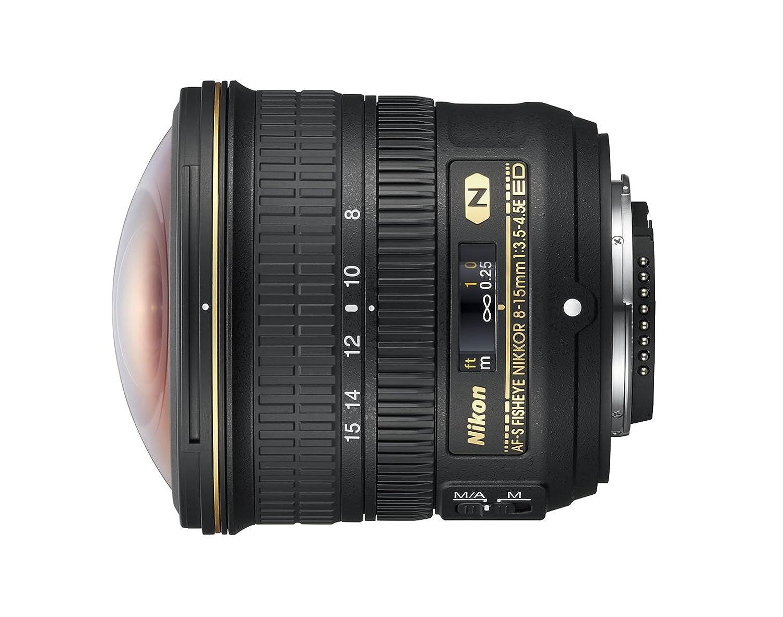 Nikon AF-S FISHEYE NIKKOR 8–15mm 1:3.5–4.5E: Amazon.de: Kamera