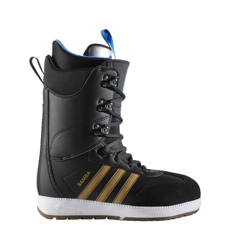 adidas Skateboarding  Men's Samba ADV Core Black/Gold Metallic/Footwear White 11.5 D US