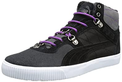 Puma Tipton Boots padded winter sneaker padded leather, shoe size:EUR  44.5;color