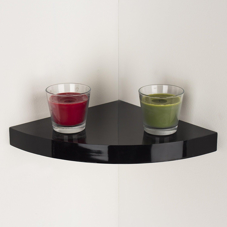 Core Products Hudson Corner Box Shelf Kit, Black HDGC295BK