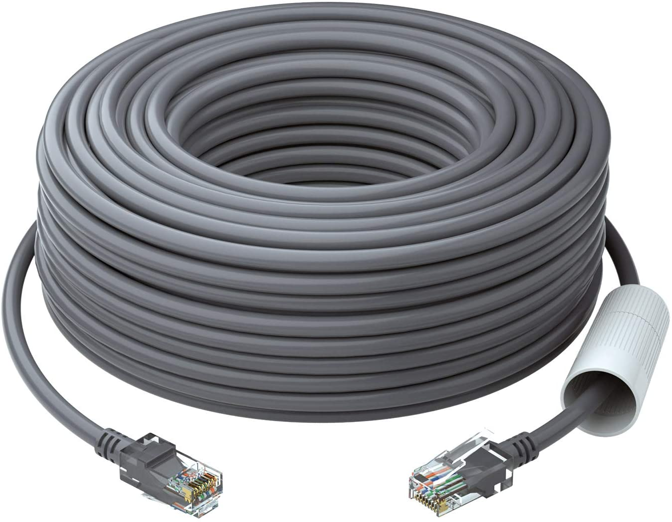 4 RJ45 Computer Network Internet Wire PoE Switch Cord Lknewtrend 200FT Feet CAT5 Cat5e Ethernet Patch Cable 4 Pack, 200 FT