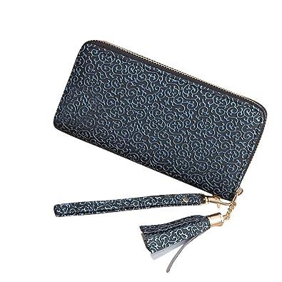 Amazon.com: Cooki para mujer bolso de mano Borlas largo ...