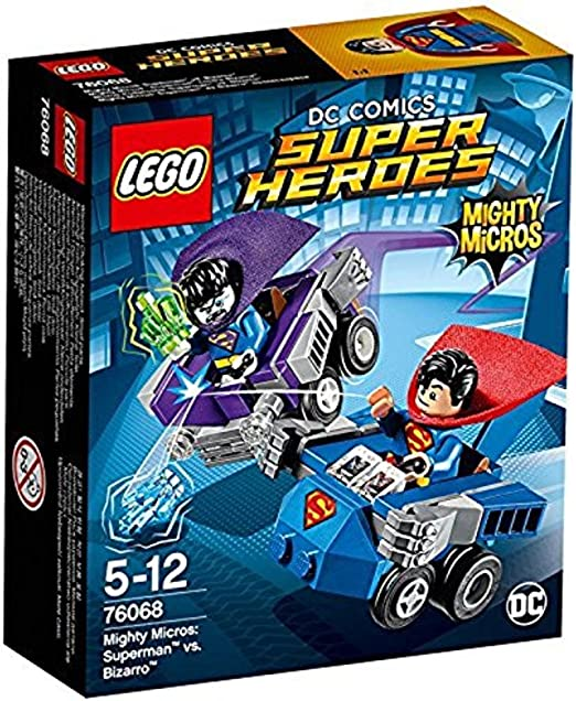 LEGO DC Super Heroes Mighty Micros 76068 Superman vs BNIB retired!!! Bizarro