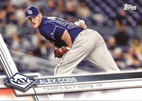 Amazon.com: 2017 Topps Team Edition Baseball Card#TB-13 Alex Cobb ...