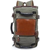 Fshark Oxford Laptop Backpack Messenger Bag 30L Capacity Travel Shoulder Tote Bag Hiking Bag Camping Bag Rucksack