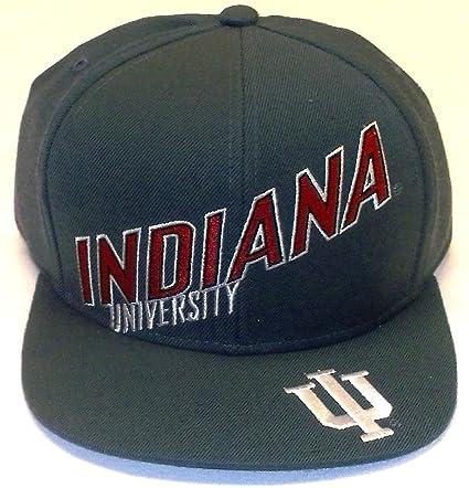 0539ffc829da47 Amazon.com : University of Indiana Hoosiers Flat Bil Snap Back Adidas Hat -  Osfa - NH41Z : Sports & Outdoors