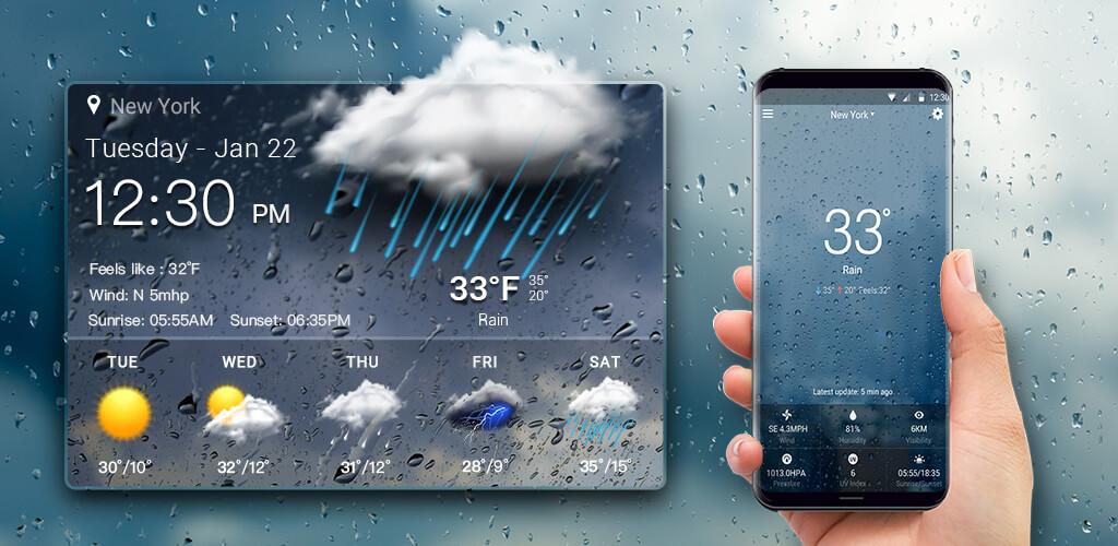 Los 8 mejores widgets meteorológicos para Android