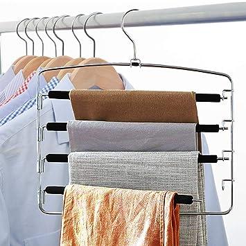 Amazon.com: Lucky Life - Perchas para pantalones (3 unidades ...