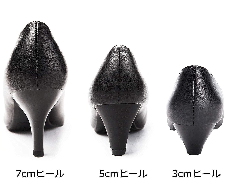 843af18a29d397 Amazon | [エンゼルシティー] パンプス ハイヒール ポインテッドトゥ コンフォート 美脚 小さい 大きいサイズ 3cmヒール 5cmヒール  7cmヒール ブラック ホワイト ...