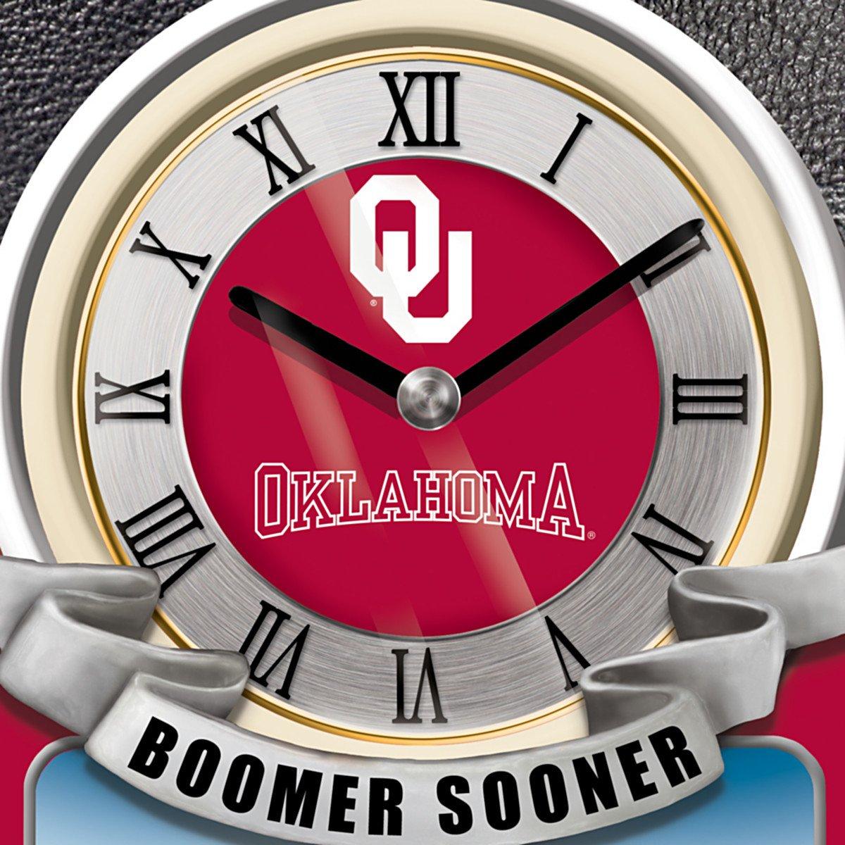 University Of Oklahoma Sooners College Football Cuckoo Clock: Bradford Exchange by The Bradford Exchange by Bradford Exchange (Image #3)
