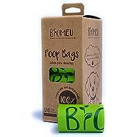 Bolsas para DESECHO DE Mascota 100% COMPOSTABLES (Producto Certificado) Caja con 120 Bolsas