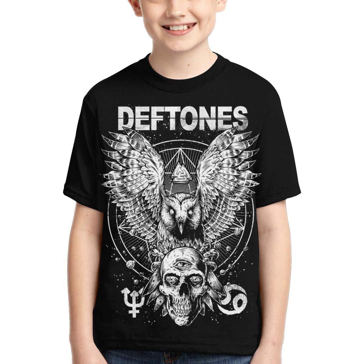 Caiyuzhuanmai Boys,Girls,Youth Deftones Tshirts