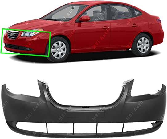 HY1000167 Bumper Cover for 07-10 Hyundai Elantra Front