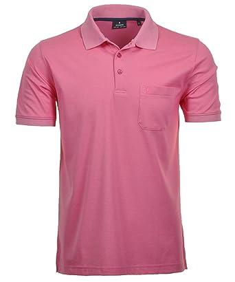 Ragman - Polo - para Hombre Morado Rosa S: Amazon.es: Ropa y ...