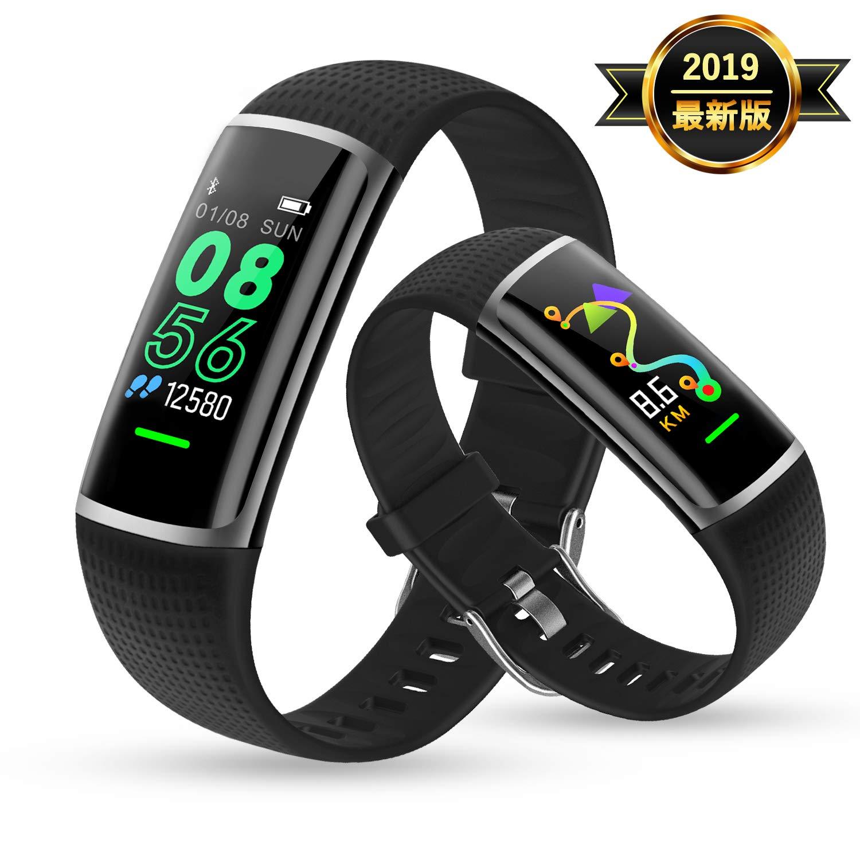 Apple Watch Series 4(GPSモデル)- 44mmスペースグレイアルミニウムケースとブラックスポーツバンド