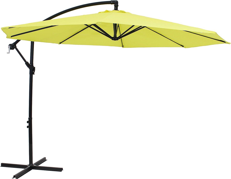 Sunnydaze Outdoor Cantilever Offset Patio Umbrella