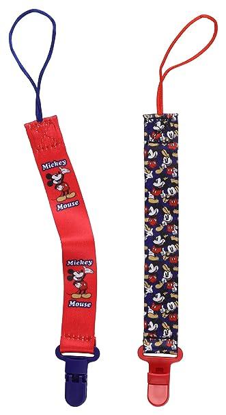 Amazon.com: Disney Mickey Mouse - Juego de 2 pinzas para ...