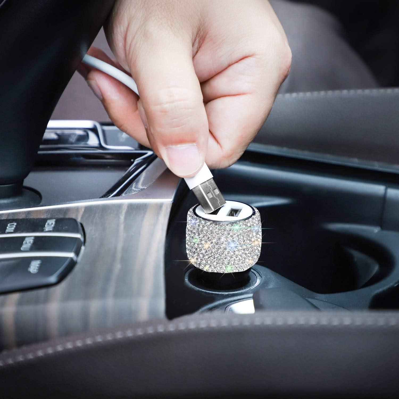 Savori Quick Charge Dual Usb Car Charger Car Adapter Elektronik
