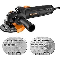 Amoladora Angular, Meterk Multi-function Amoladora 750W de 115 mm y 12000 RPM…