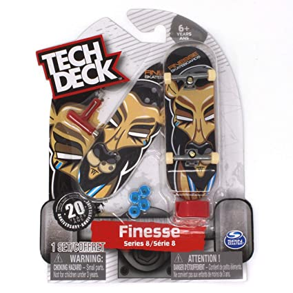 Tech Deck Finesse Skateboards Ultra Rare Series 8 Lion Fingerboard - 20094601