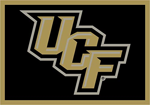 Koeckritz Rugs Central Florida Knights UCF NCAA Area Rug 5 4 x 7 8 , Spirit
