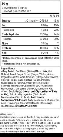 Prozis Whey Protein & Oats 80G - Excelente Fuente De Proteína Y Fibra - Potencia La Fuerza Y El Crecimiento Muscular - El Mejor Sabor A Merengue De Limón: ...