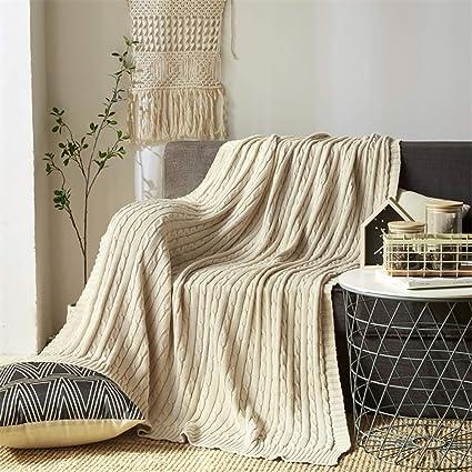 amazon com yachee super cozy soft 100 cotton throw blanket couch rh amazon com decorative throw blankets for sofa