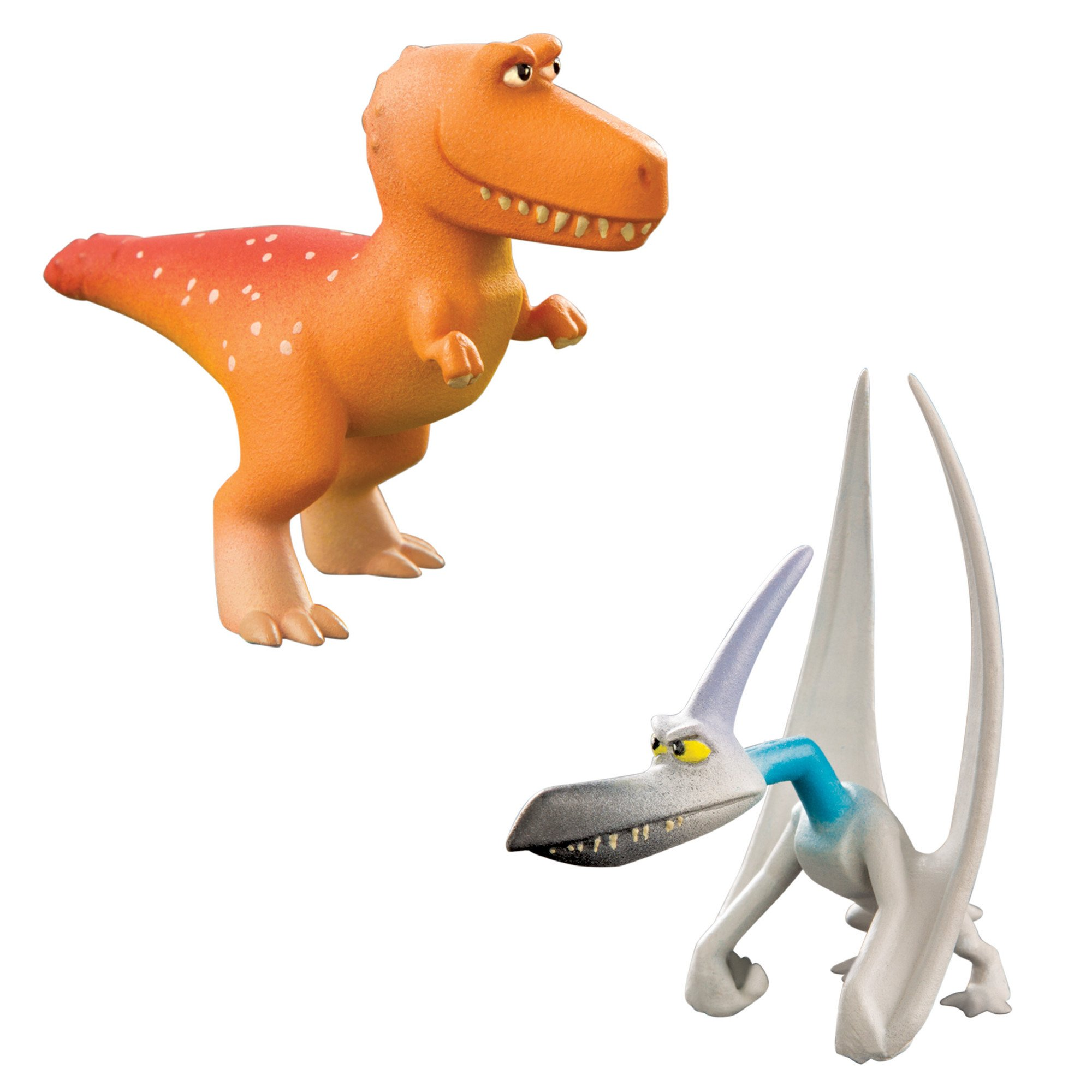 "Pixar Disney TOMY The Good Dinosaur Extra Large ""Butch"" /& Ramsey Action Figures"