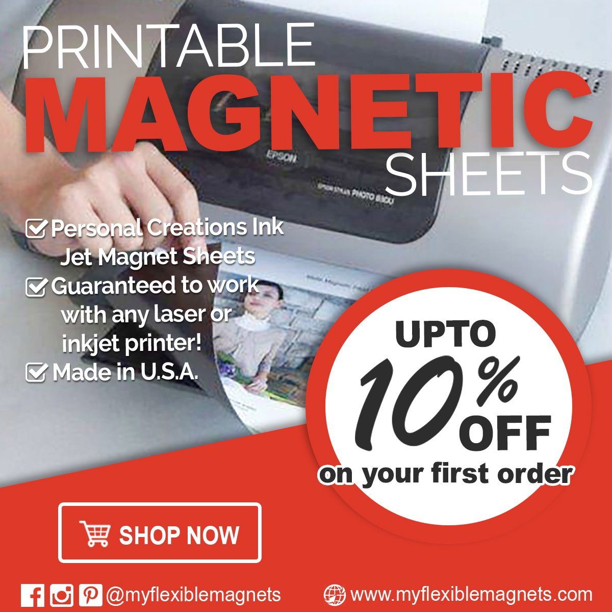 Amazon printable magnet sheets 85 x 11 inches white 25 amazon printable magnet sheets 85 x 11 inches white 25 sheets 15 mil thick office products magicingreecefo Gallery