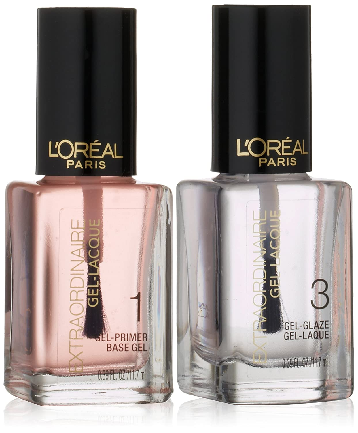 Amazon.com: L\'Oreal Paris Extraordinaire Gel-Lacque 1-2-3 Nail Color ...