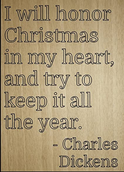 U0026quot;I Will Honor Christmas In My Heart, And...u0026quot;