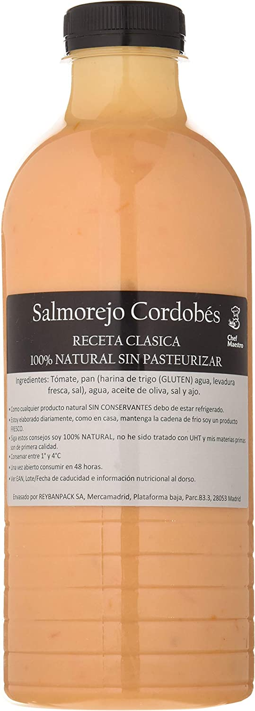 Caribiana Salmorejo Cordobés, 100% Natural, 1000ml: Amazon.es ...