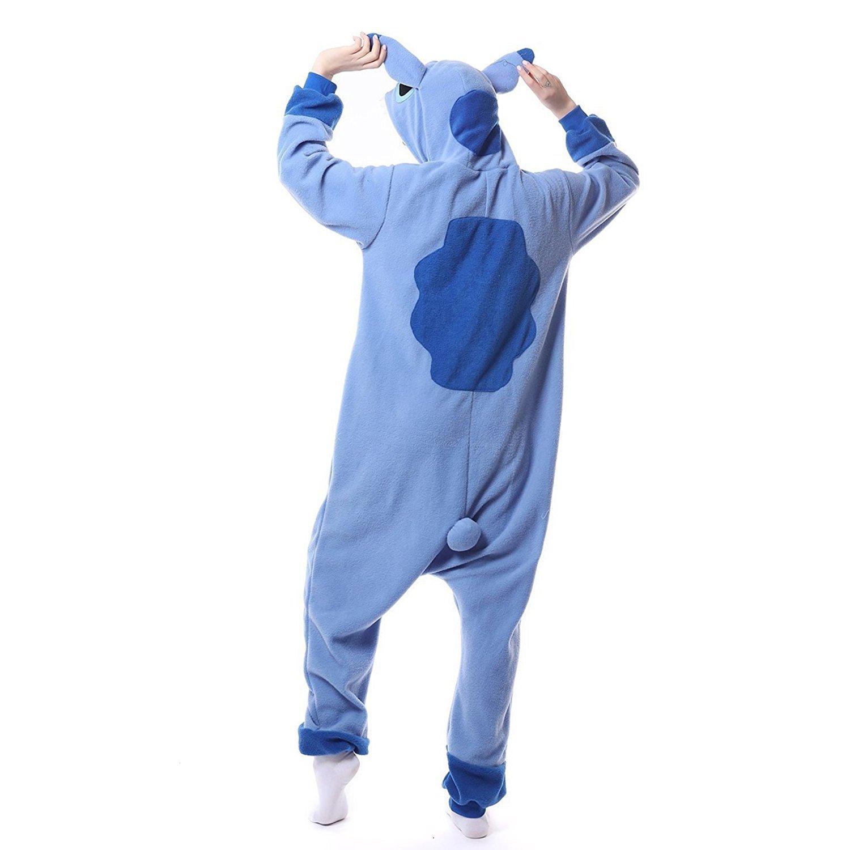 Sleepwear Loyal Blue Stich Unisex Adult Pajamas Kigurumi Cosplay Costume Animal Sleepwear Delicious In Taste