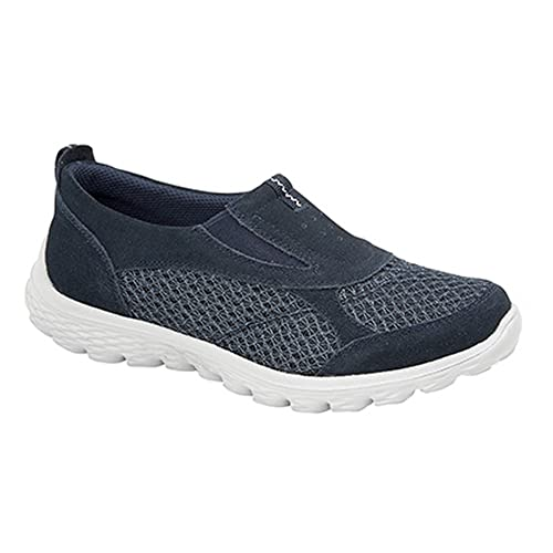 d442c2db Boulevard - Zapatillas deportivas sin cordones con elásticos laterales para  mujer: Amazon.es: Zapatos y complementos