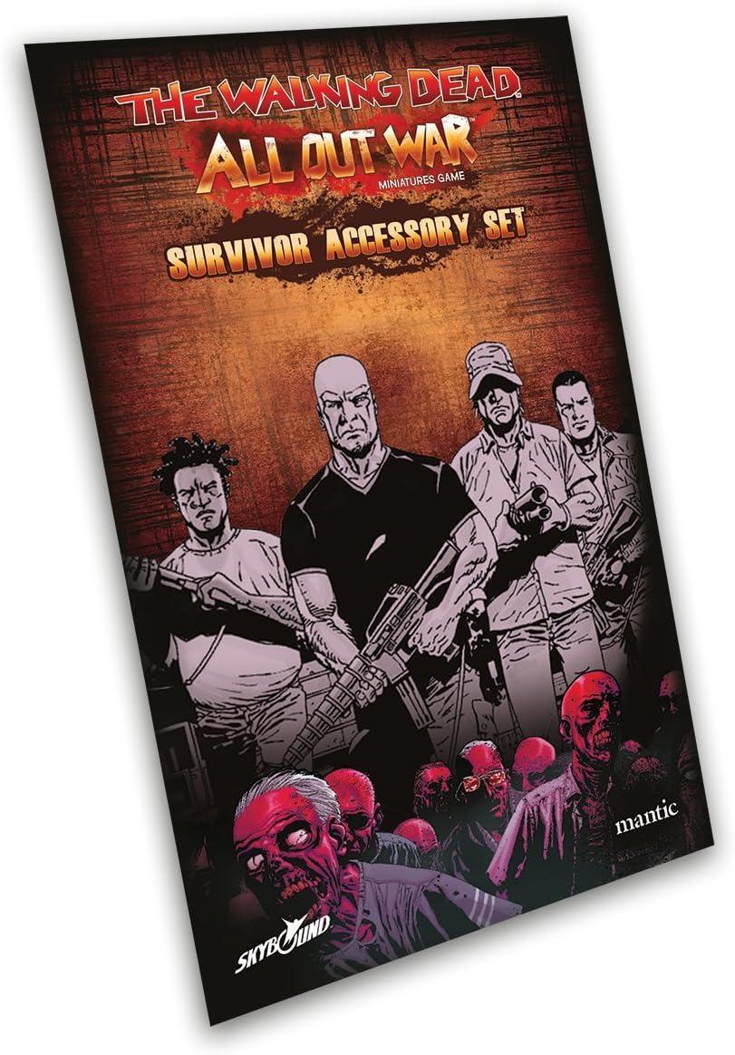 2 Tomatoes Games- The Walking Dead All out War - Kit de Accesorios Deluxe para Supervivientes, Multicolor (5060469661131): Amazon.es: Juguetes y juegos