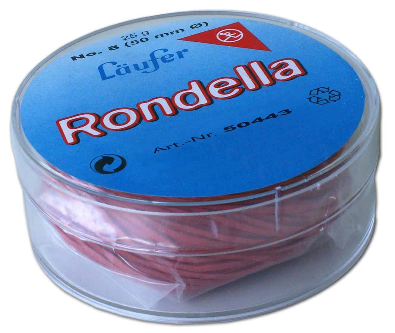 L/äufer elastici rotondi Rondella confezione rotonda da 25 g 65 mm /Ø