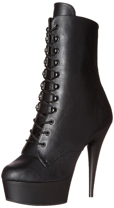 f72bba934e46ab Pleaser Damen Delight-1020 Kurzschaft Stiefel  Amazon.de  Schuhe ...