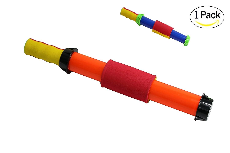 水ランチャー、Squirt Gun with EasyグリップハンドルFun夏Toy for Kids大人Water Blaster – 強力なWater Gun ( 1つ) ( Colors May Vary )   B073QCR9VB