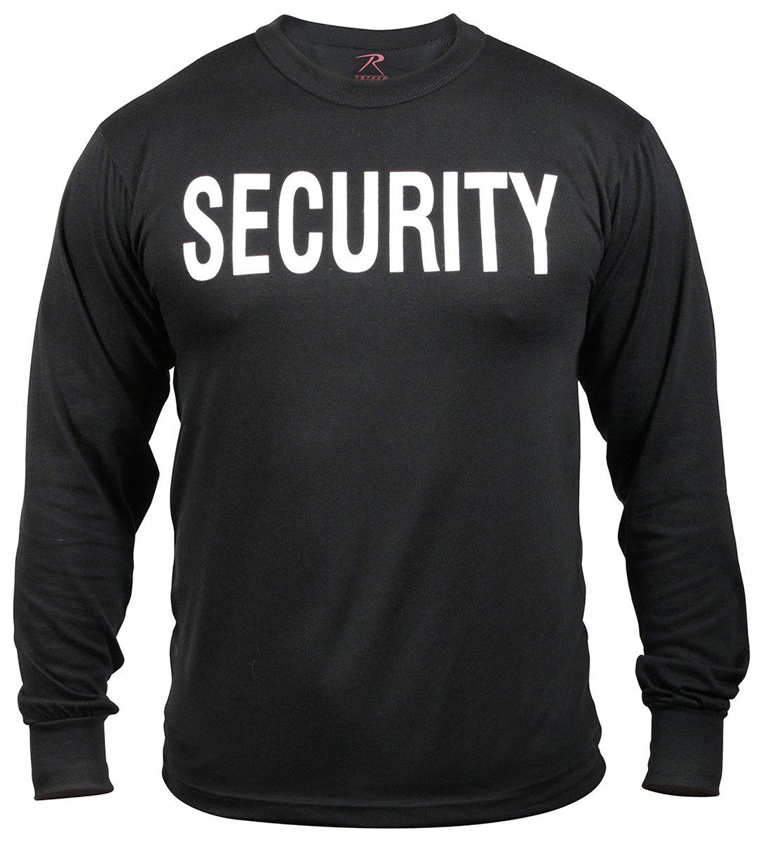 Rothco 2-Sided Long Sleeve Security T-Shirt