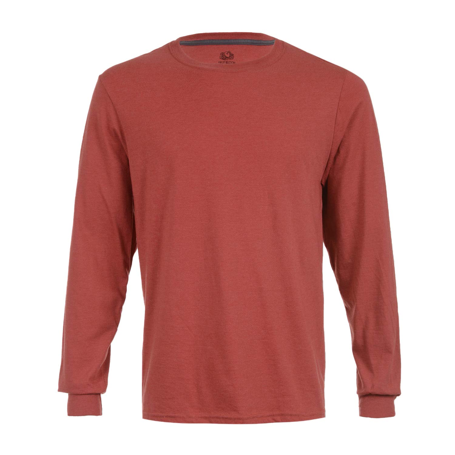 08c5b631 Fruit of the Loom Heavy Cotton HD 100% Cotton Long Sleeve T-Shirt |  Amazon.com