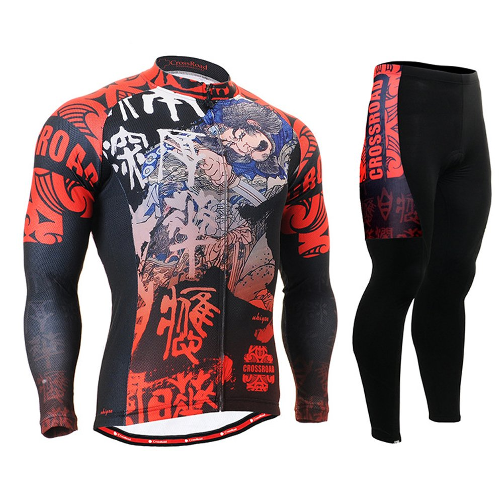 Cycling MTB Motorcycle Workout Compression Sportwear Sport Suit Y96
