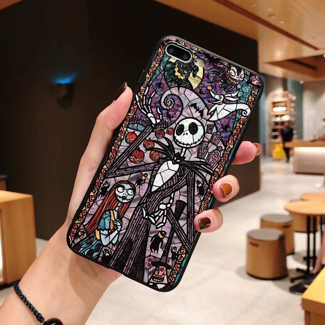 """Tianyuanxuan iPhone 11 Case Anti Scratch Halloween Ghost Pattern Slim Embossed Coolest Design TPU Case for iPhone 11 6.1"""""""