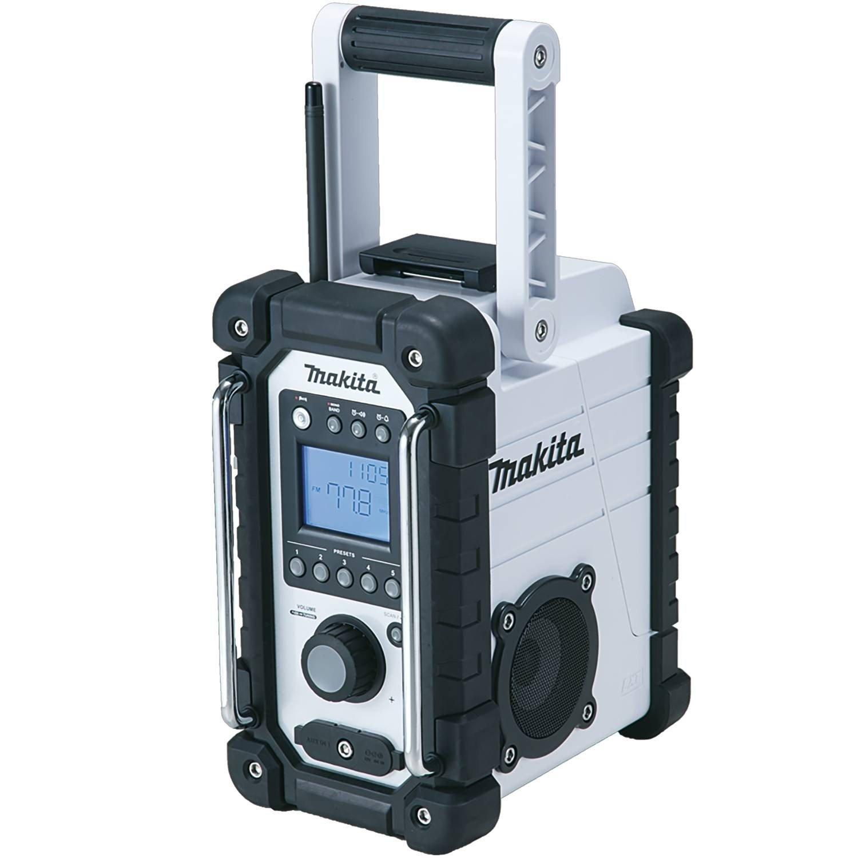 Makita XRM02W 18V Compact Lithium-Ion Cordless Job Site Radio, Tool ...
