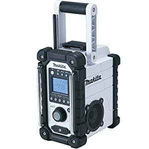 Makita XRM02W 18V Compact Lithium-Ion Cordless Job Site Radio, Tool Only