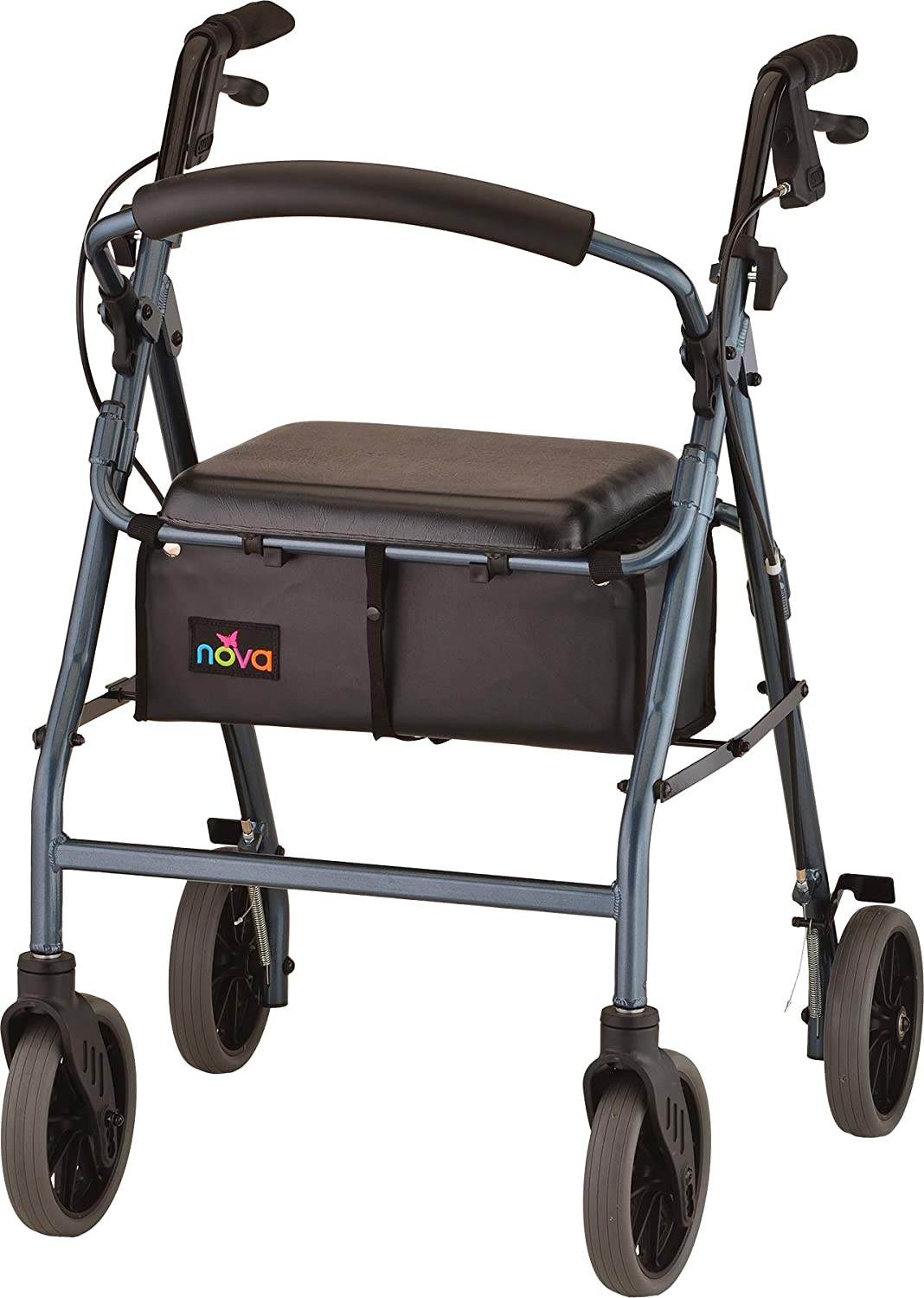 NOVA Medical Products Zoom Rollator Walker with 24