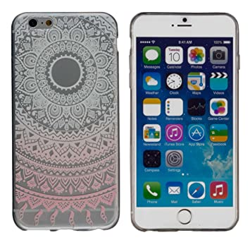 Yayago - Carcasa para Apple iPhone 6/6s Mandala Tattoo ...