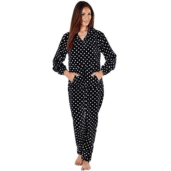 f336384401ae0 femmes polaire Ones femmes tout en un chemise de nuit pyjama ...