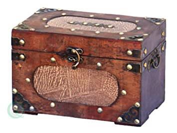 vintiquewisetm treasure chestdecorative box small - Decorative Box