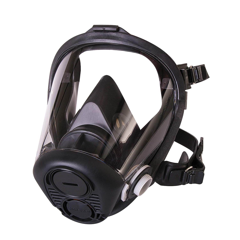 Honeywell North RU6500 Series Niosh-Approved Full Facepiece Silicone Respirator, Medium (RU65001M)