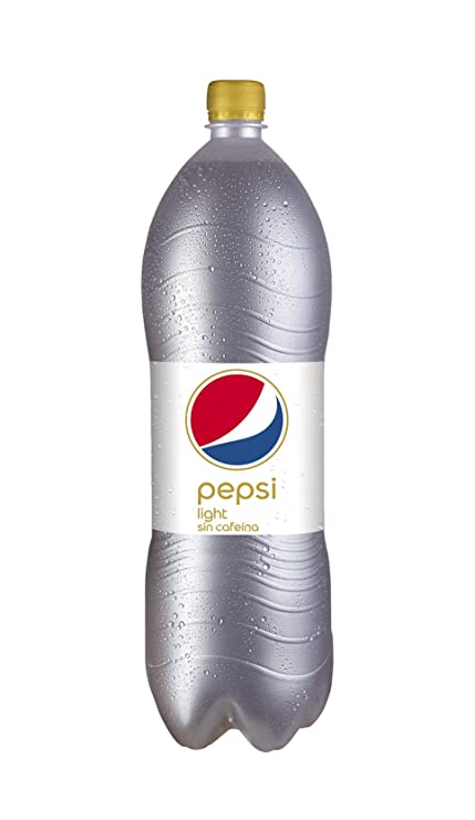 Pepsi Light 128225 - Refresco sin cafeína, 2 L